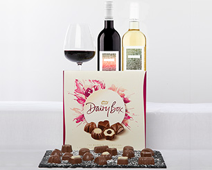 Christmas Hampers at Musgrave MarketPlace - The Twin Wine & Chocolate Hamper