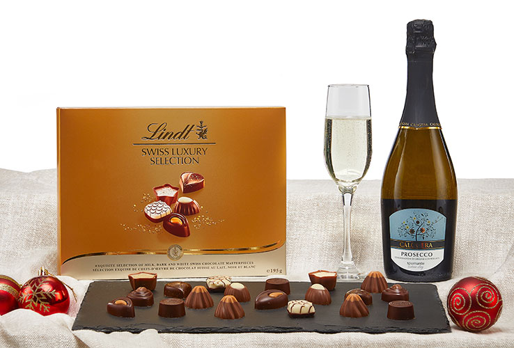 Christmas Hampers at Musgrave MarketPlace - The Prosecco & Chocolate Hamper