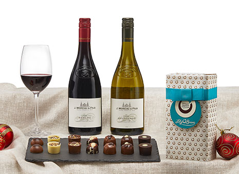 Christmas Hampers at Musgrave MarketPlace - The Wine & Chocolate Hamper
